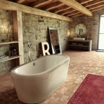 Bathroom Rustic Industrial Indoor Spacious