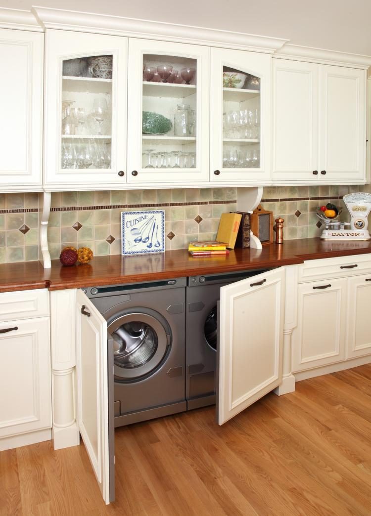 Kitchen Washing Machine ~ Washing machine in the kitchen spend space properly