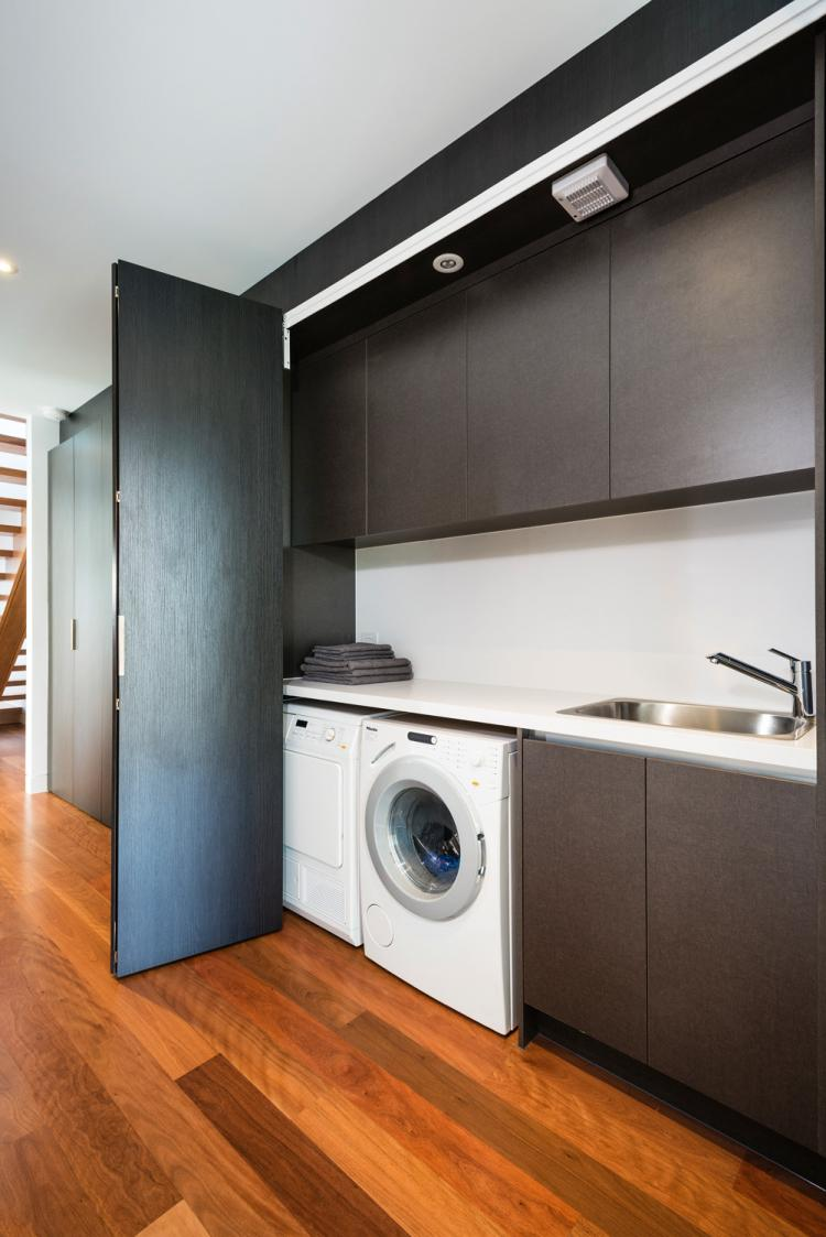 Washing Machine In The Kitchen Spend Space Properly