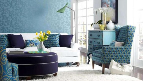 Living Room Fabrics for Color Aquamarine Furnishings
