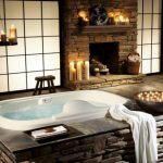 Rustic Bathroom Decoration Natural Stone Bathroom Decoration