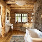 Rustic Bathroom Design Warm Bathroom Design