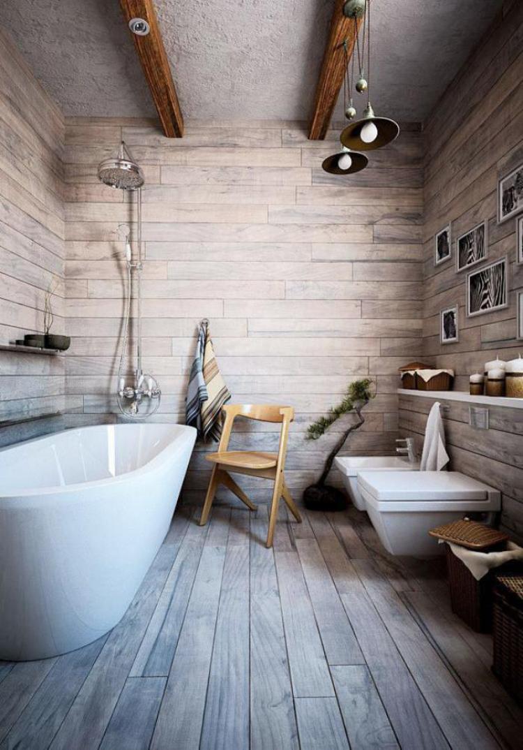 38 beautiful design of rustic bathroom ideas