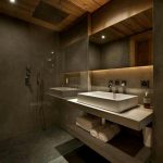 Rustic Bathroom The Modern Rustic Style Interior Stylish Wood And Concrete