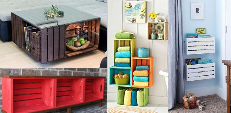10 Creative DIY Wood Crate Projects, Definitely Interest You!