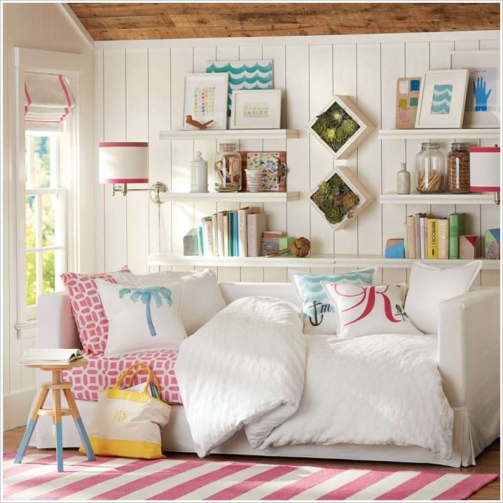 10 Smart Solutions Teen Bedrooms for Small Space 4