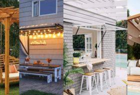 20 Creative Pergola Design For Outdoor Enterntaining