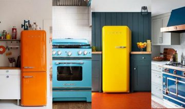 Best Colorful Kitchen Appliances Inspirations