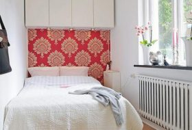 Cool Tiny Bedrooms With Headboard Wallpaper Design Ideas