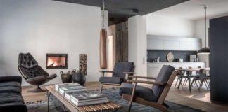 Inspiring Stylish Masculine Bachelor Pad Apartment In Berlin