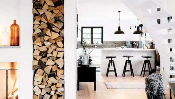 Minimalist Modern Black and White interior Decor for Small Home