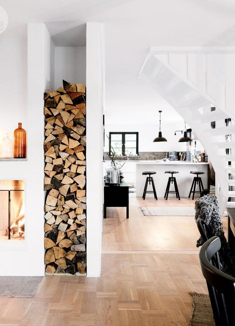 Minimalist Modern Black and White interior Decor for Small Home