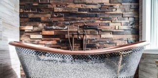 Modern And Rustic Bathtub Designs Ideas