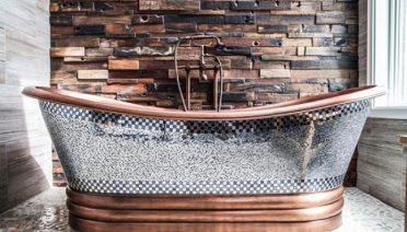 Modern And Rustic Bathtub Designs Ideas