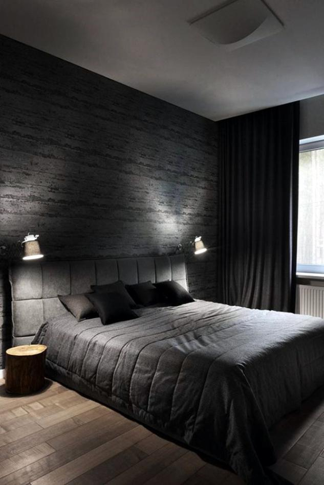 Modern Classic and Masculine Men Bedroom Ideas
