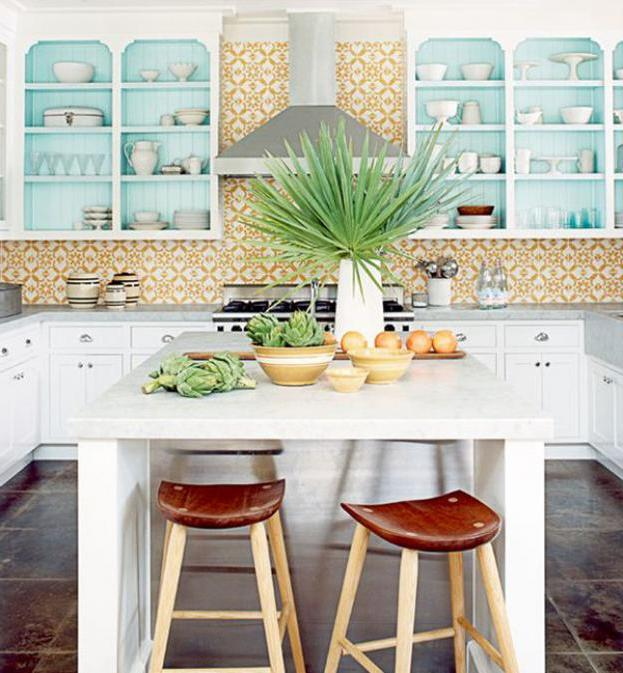 natural fresh tropical kitchen decor ideas design