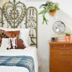 Retro Rattan Headboard Designs Design