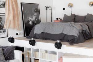 Stylish Hanging Bedroom Design Ideas