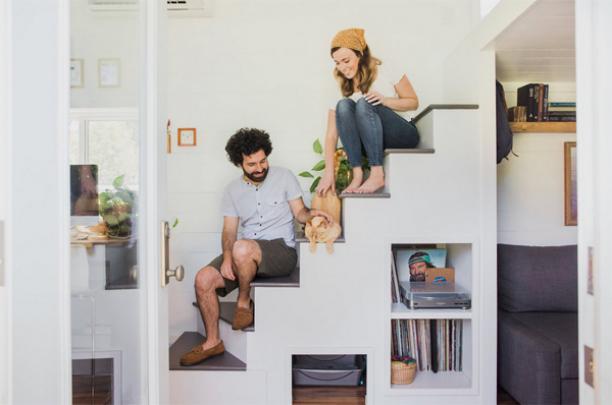 Wonderful Smart Staircase Storage Ideas
