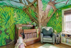 Attractive Jungle Kids Room Designs and Decor 3