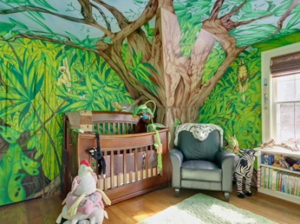 Attractive Jungle Kids Room Designs and Decor 3