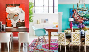 Beautiful Colorful Dining Room Ideas