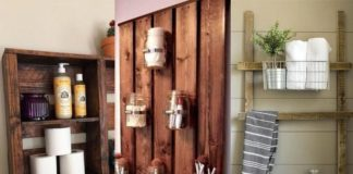 CREATIVE DIY PALLET PROJECTS FOR THE BATHROOM