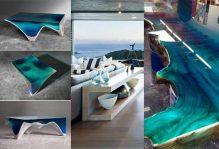 CREATIVE OCEAN COFFEE TABLE