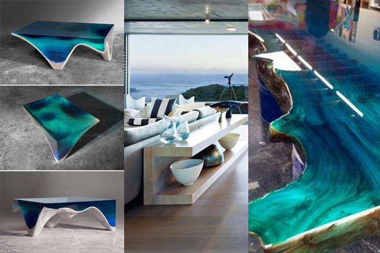 CREATIVE OCEAN COFFEE TABLE