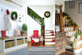 Creative and Inviting Winter Entryway Décorations