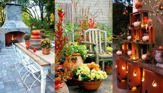 Inspiring Fall Patio Decorating Ideas