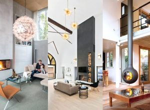 Modern Cool 3 Types Freplaces