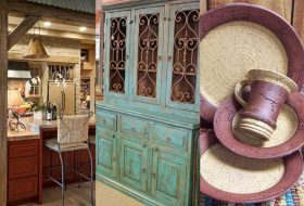 Rustic Western Style Kitchen Decorations