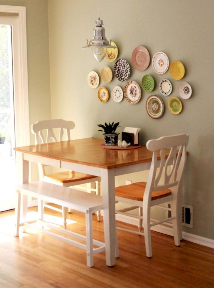 Cute small dining room furniture inspirations 31