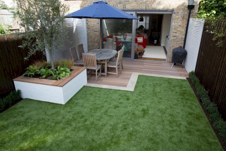50 low maintenance small backyard garden inspirations for Home garden maintenance