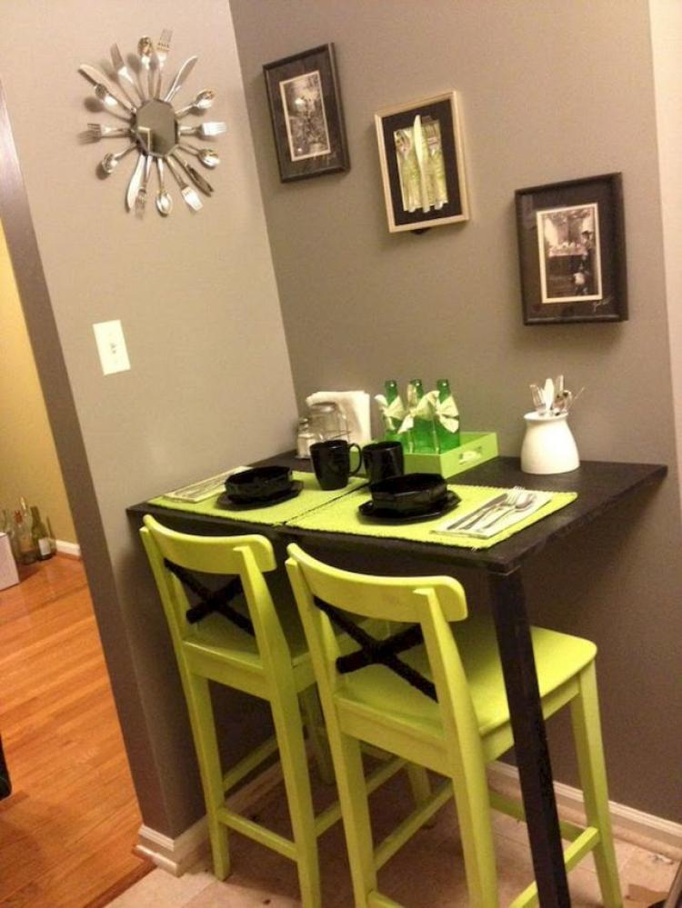 Small-Space-Breakfast-Nook-Apartment-Inspirations-on-A-Budget-11 Ideas On A Budget Small Apartment Kitchen on small kitchen cabinets design ideas, small kitchen remodeling ideas, small apartment living room ideas,