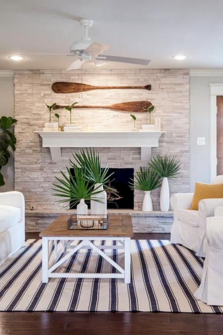 Coastal Living Room Design Ideas: 40+ Fresh Lake House Living Room Decorating Inspirations