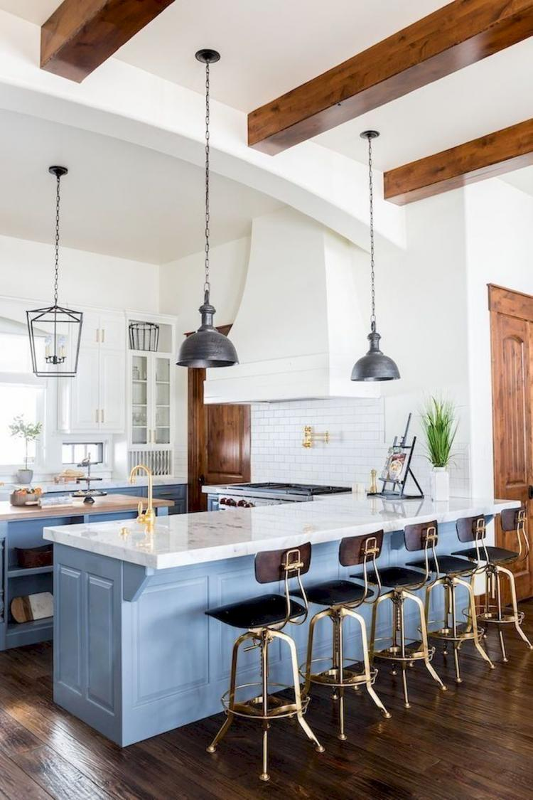 Modern White Farmhouse Kitchen Cabinets