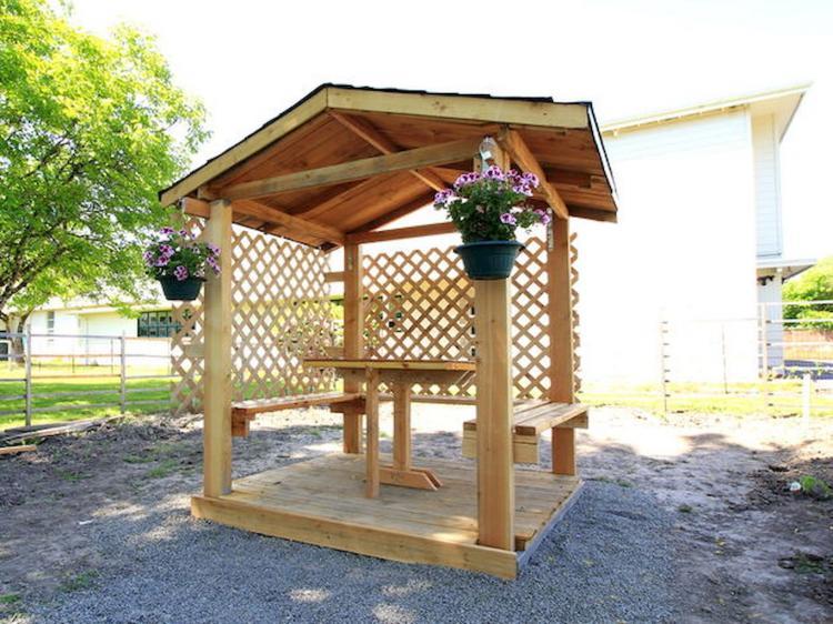 30+ Cool Backyard Gazebo Ideas on A Budget