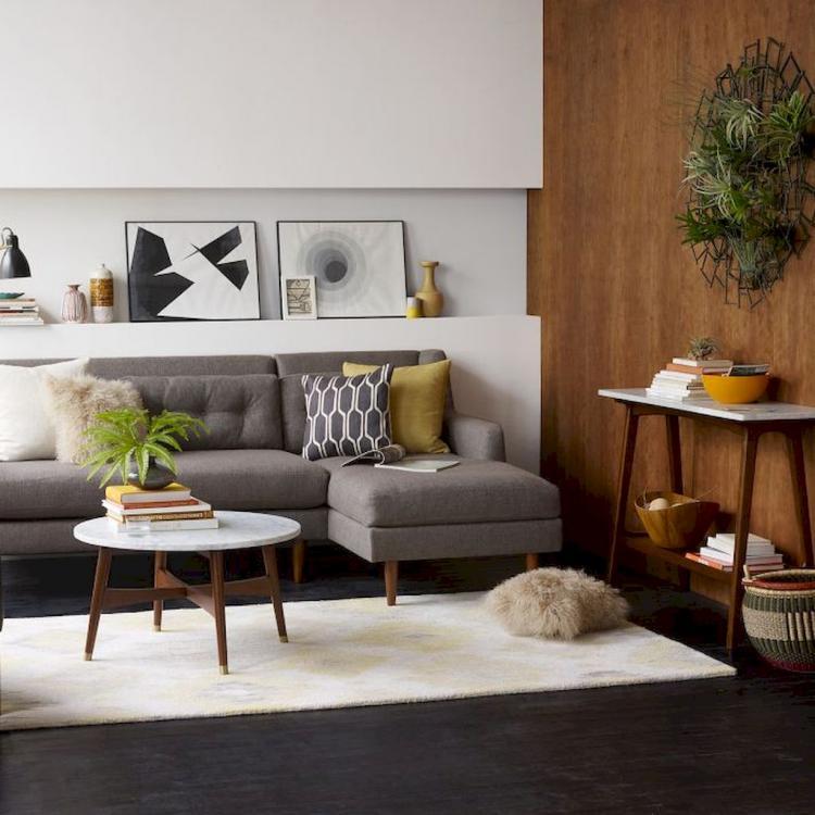 Mid Century Modern Living Room: 60+ MID Century Modern Living Room Decor Inspirations
