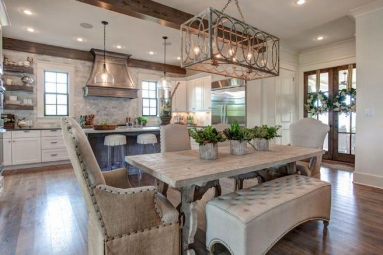 Modern French Country Kitchen. Modern French Country Kitchen T