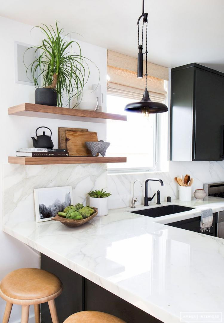 Modern Mid Century Kitchen Remodel Inspirations 39