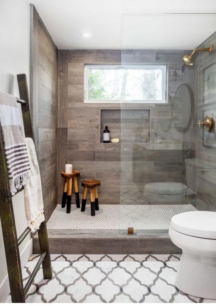 rustic farmhouse master bathroom remodel ideas