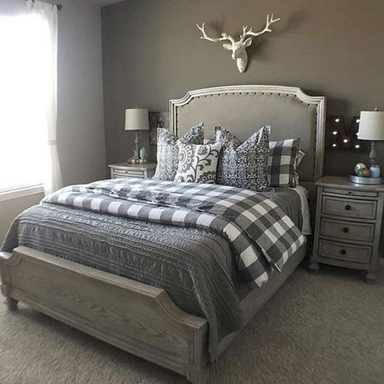 Modern Home Design Ideas Gray: 70 Best Modern Farmhouse Bedroom Decor Ideas