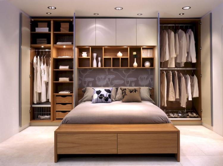 45 brilliant small bedroom design and storage
