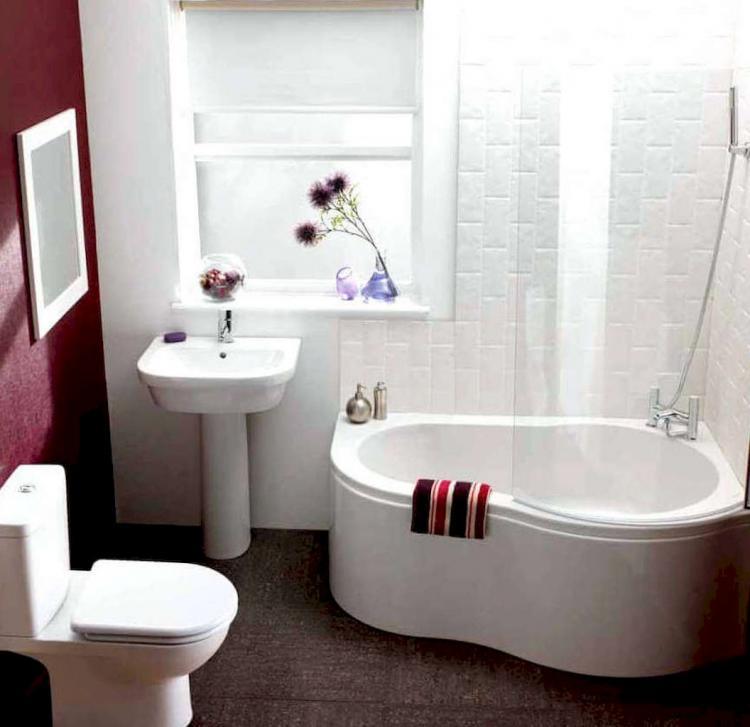 50+ Clever Tiny House Bathroom With Tub Ideas