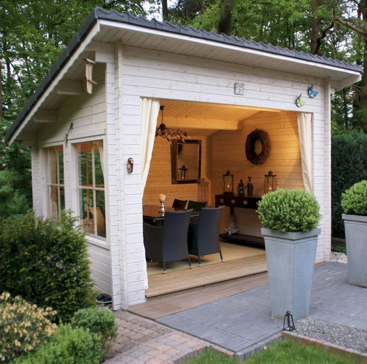 50+ Cool DIY Backyard Studio Shed Remodel Design & Decor Ideas