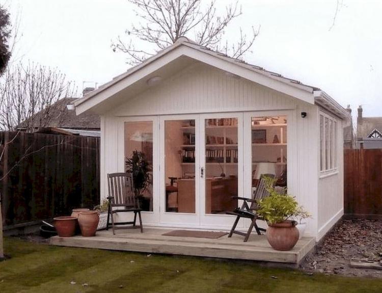 50+ Cool DIY Backyard Studio Shed Remodel Design & Decor Ideas