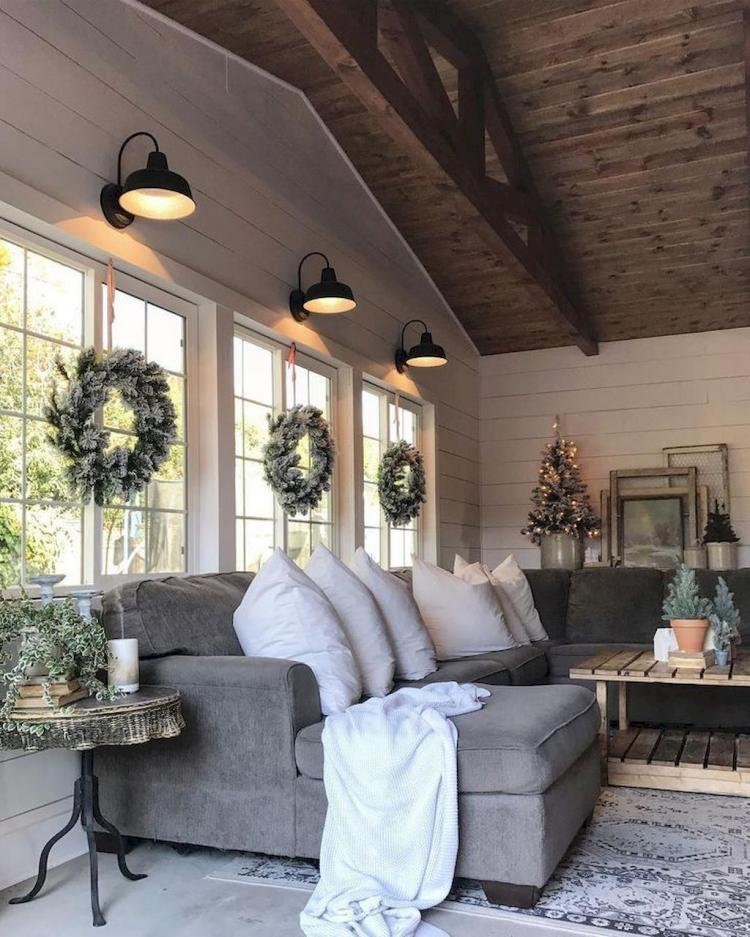 Home Decorating Ideas Farmhouse Gorgeous 60 Cozy Modern: 60 Cozy Farmhouse Living Room Makeover Decor Ideas