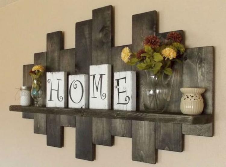 55 diy rustic home decor ideas on a budget for Rustic home decor on a budget